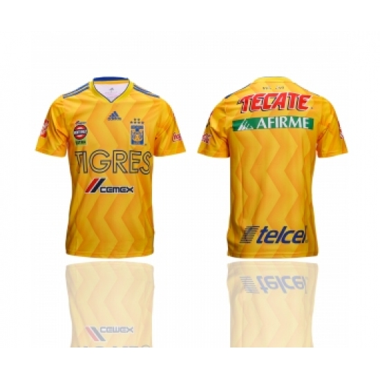 9999523bf 2018-19 Tigres UANL Home Thailand Soccer Jersey