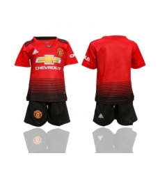 2018-19 Manchester United Home Youth Soccer Jersey