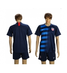 2018-19 USA Away Soccer Jersey