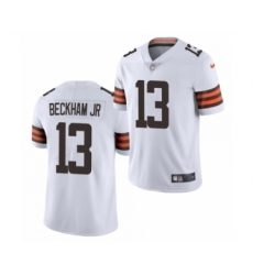 Cleveland Browns #13 Odell Beckham Jr White 2020 Vapor Limited Jersey