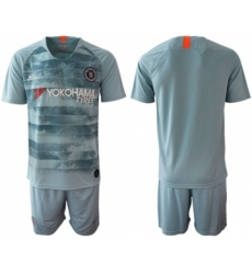 Chelsea Blank Third Soccer Club Jersey
