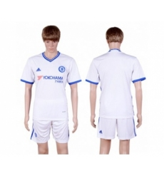 Chelsea Blank White Soccer Club Jersey
