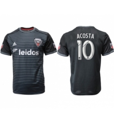 D.C. United #10 Acosta Home Soccer Club Jersey