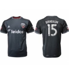 D.C. United #15 BirBasketballum Home Soccer Club Jersey