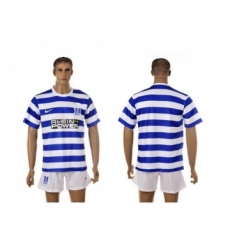 Duisburg Blank Home Soccer Club Jersey