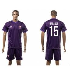 Florence #15 Bagadur Home Soccer Club Jersey