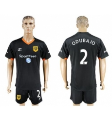Hull City #2 Odubajo Away Soccer Club Jersey