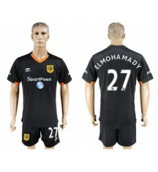 Hull City #27 Elmohamady Away Soccer Club Jersey