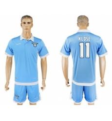 Lazio #11 Klose Home Soccer Club Jersey