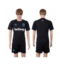 West Ham United Blank Away Soccer Club Jersey