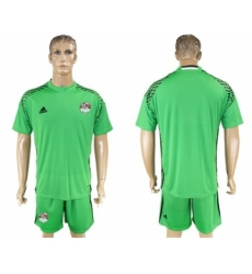 Egypt Blank Green Goalkeeper Soccer Country Jersey