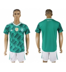 Germany Blank Away Soccer Country Jersey