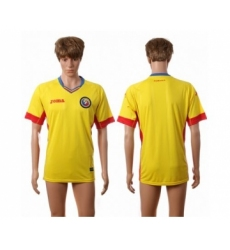 Romania Blank Home Soccer Country Jersey