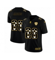 Men's Oakland Raiders #28 Josh Jacobs Black Jesus Faith Limited Football Jersey