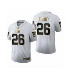 Men's Oakland Raiders #28 Josh Jacobs White Golden Edition Limited Football Jersey