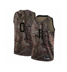 Men's Houston Rockets #0 Russell Westbrook Swingman Camo Realtree Collection Basketball Jersey