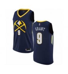 Youth Denver Nuggets #9 Jerami Grant Swingman Navy Blue Basketball Jersey - City Edition