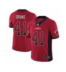 Men's Arizona Cardinals #41 Kenyan Drake Limited Red Rush Drift Fashion Football Jersey
