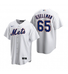 Men's Nike New York Mets #65 Robert Gsellman White 2020 Home Stitched Baseball Jersey