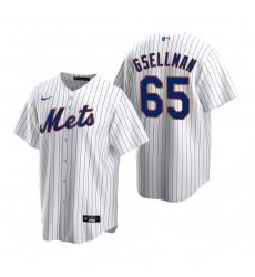 Men's Nike New York Mets #65 Robert Gsellman White 2020 Home Stitched Baseball Jersey