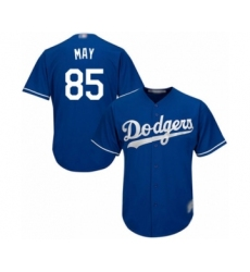 Men's Los Angeles Dodgers #85 Dustin May Royal Blue Alternate Flex Base Authentic Collection Baseball Player Jersey