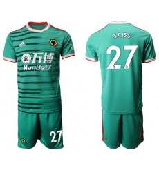 Wolves #27 Saiss Third Soccer Club Jersey