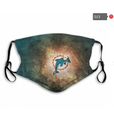 Miami Dolphins Mask-0022