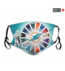Miami Dolphins Mask-0024