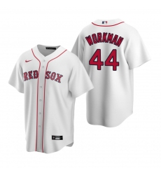 Men's Nike Boston Red Sox #44 Brandon Workman White Home Stitched Baseball Jersey