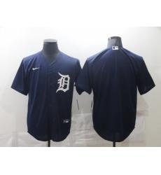 Men's Nike Detroit Tigers Blank Blue Home Baseball Jersey