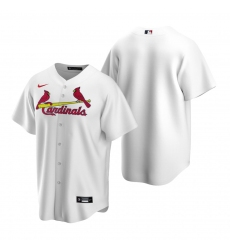 Men's Nike St. Louis Cardinals Blank White Home Stitched Baseball Jersey