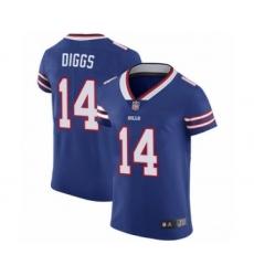 Men's Buffalo Bills #14 Stefon Diggs Royal Blue Team Color Vapor Untouchable Elite Player Football Jersey