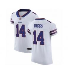 Men's Buffalo Bills #14 Stefon Diggs White Vapor Untouchable Elite Player Football Jersey