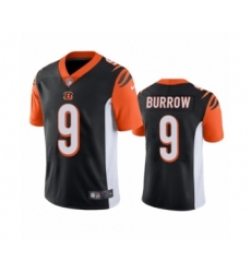 Cincinnati Bengals #9 Joe Burrow Black 2020 NFL Draft Vapor Limited Jersey