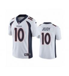 Denver Broncos #10 Jerry Jeudy White 2020 NFL Draft Vapor Limited Jersey