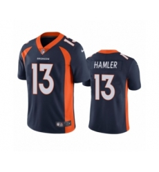 Denver Broncos #13 K.J. Hamler Navy Vapor Untouchable Limited Jersey
