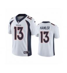 Denver Broncos #13 K.J. Hamler White Vapor Untouchable Limited Jersey