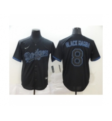 Los Angeles Dodgers #8 Kobe Bryant Black Shadow 2020 Cool Base jersey