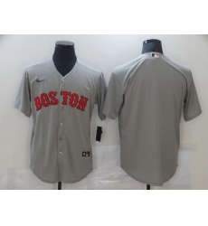 Men's Nike Boston Red Sox Blank Gray Jersey