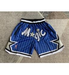 Men's Orlando Magic blue striped four pockets Shorts