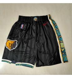 Men's Memphis Grizzlies Black City Edition Shorts
