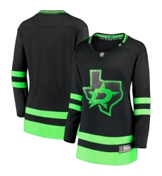 Women's Dallas Stars Fanatics Branded Black 2020-21 Alternate Premier Breakaway Jersey
