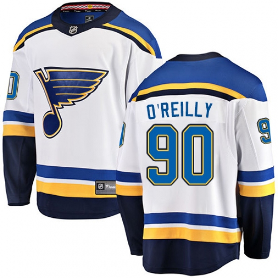 reputable site 8219c 63ac8 Men's St. Louis Blues #90 Ryan O'Reilly Fanatics Branded ...