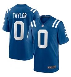 Men's Indianapolis Colts #0 Jonathan Taylor Nike Royal 2020 NFL Draft Pick Game Jersey.webp