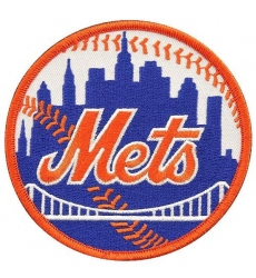New York Mets Primary Logo Patch