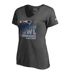 ed3bab781 NFL Women s New England Patriots Majestic Navy 2015 AFC East Division  Champions T-Shirt