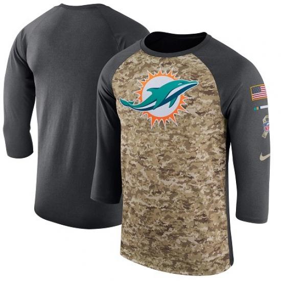 super popular 9ca95 e56f9 NFL Men's Miami Dolphins Nike Camo Anthracite Salute to ...