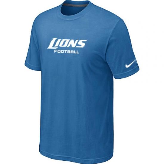 brand new 41233 da295 Nike Detroit Lions Sideline Legend Authentic Font Dri-FIT ...
