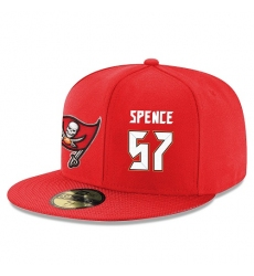 NFL Tampa Bay Buccaneers #57 Noah Spence Stitched Snapback Adjustable Player Hat - Red/White