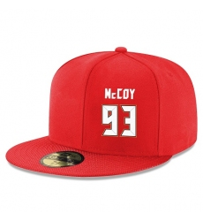 NFL Tampa Bay Buccaneers #93 Gerald McCoy Stitched Snapback Adjustable Player Hat - Red/White